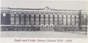 Hutchinson Central Technical High School - Technical High School  Cedar and Clinton, c. 1914