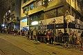 HK 上環 Sheung Wan 差館上街 Upper Station Street night 太平山街 Tai Ping Shan Street 觀音堂 Kwun Yum Tong Temple 觀音借庫 Kwun Yum Treasury Opening Festival March 2019 IX2 02.jpg
