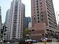 HK 西環 Sai Ying Pun Pokfulam Road King Ming Mansion n Kingsfield Tower facades Third Street Bonham Road Aug 2018 SSG.jpg