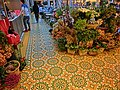 HK Central IFC mall flower shop tile flooring May 2013.JPG