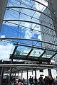 HK Central IFC mall glass wall windows blue sky June 2018 IX2 02.jpg