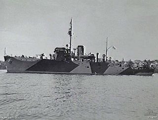 HMIS <i>Bombay</i> (J249)