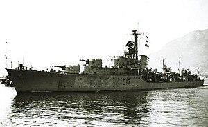 HMS Alamein (D17) - Image: HMS ALAMEIN