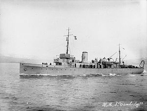 Bow, McLachlan and Company - Image: HMS Camberley IWM SP 2091