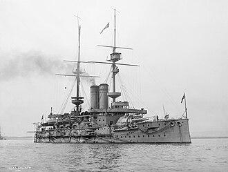 Bay of Morto - Image: HMS Goliath during the First World War IWM Q21299