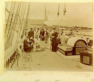 HMS Waterwitch crew Hobart April 1895.jpg