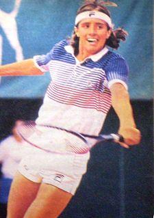 Horacio de la Peña Argentine tennis player