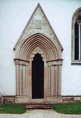 Hablingbo Church - Image: Hablingbo kyrka Gotland Portal 02