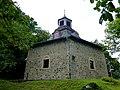 Hahnenbach – die evangelische Kirche Sechseckform wurde 1948 erbaut - panoramio (1).jpg