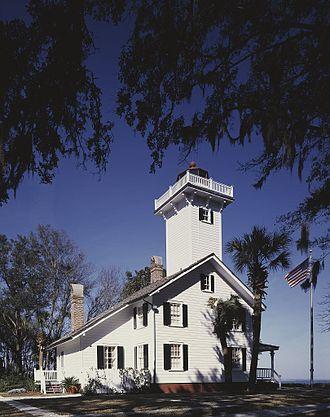 Daufuskie Island - Image: Haig Point Lighthouse, Daufuskie, South Carolina