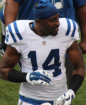 Hakeem Nicks - Nicks with the Indianapolis Colts in 2014