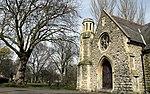 Hammersmith Cemetery Chapel in Margravine Cemetery in London, spring 2013 (2).JPG