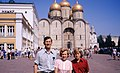 Hammond Slides Moscow 51. Hammond family in the Kremlin.jpg
