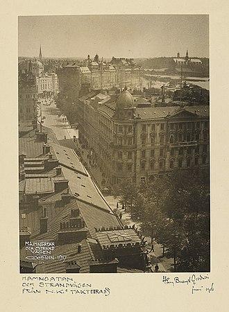 Stockholm - Stockholm in 1917