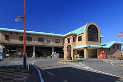 Hanyu Station East Entrance 20121015.JPG