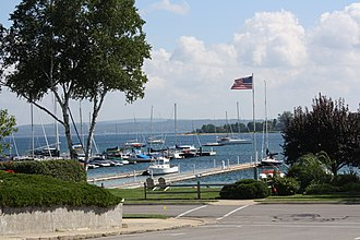 Harbor Springs, Michigan - Image: Harbor Springs Michigan Harbor