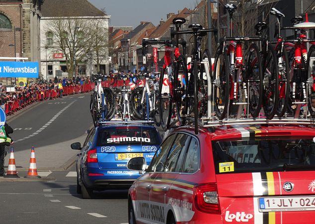 Harelbeke - Driedaagse van West-Vlaanderen, etappe 1, 7 maart 2015, aankomst (A20).JPG