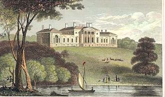 John Carr (architect) - South front, Harewood House, before remodelling by Sir Charles Barry