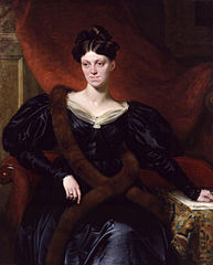 Portret Harriet Martineau pędzla Richarda Evansa