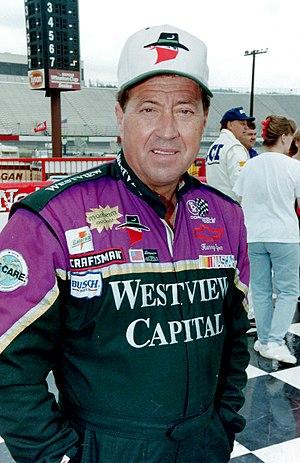 Harry Gant - Gant in 1996 at North Wilkesboro Speedway