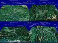 Harta pentru Defileul Oltului, Romania.jpg