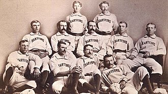 1876 Hartford Dark Blues season - Image: Hartford Dark Blues 1876