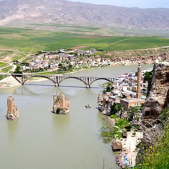 Streeter–Phelps equation - Example of a river, Tigris River near Hasankeyf, in Turkey.