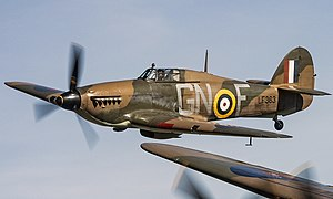 Hawker Hurricane, Battle of Britain Memorial Flight Members' day 2018.jpg