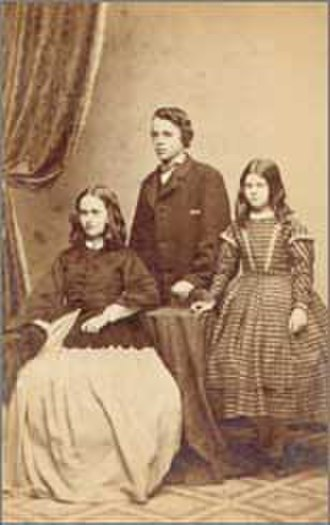 Nathaniel Hawthorne - Una, Julian, and Rose ca. 1862