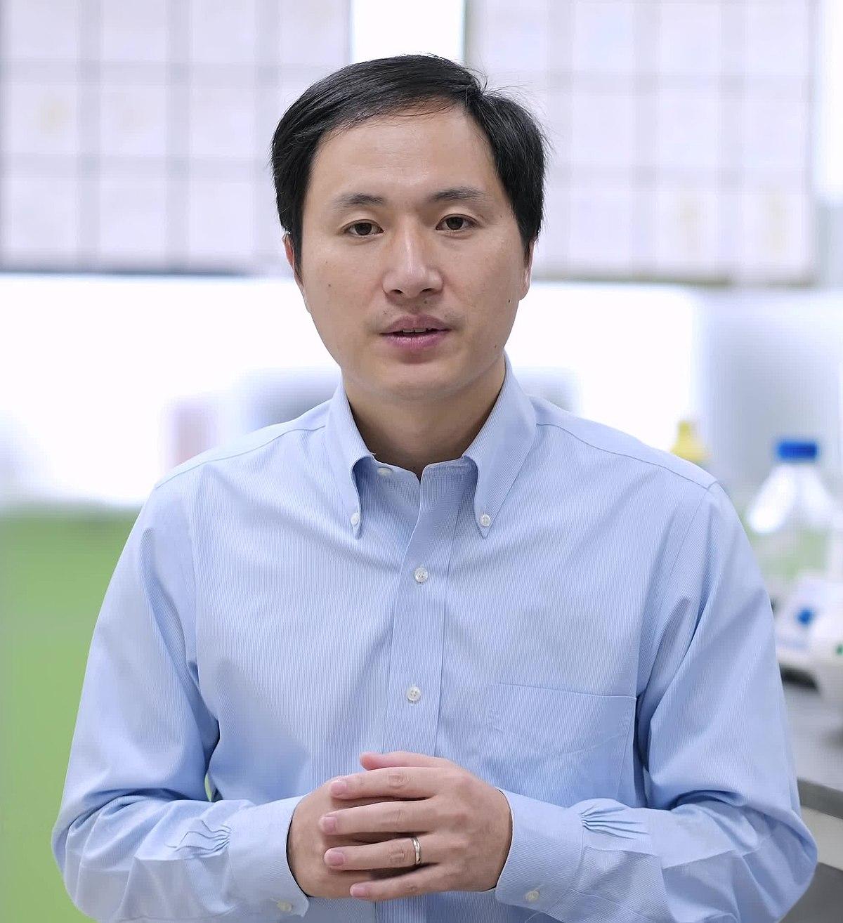 He Jiankui - Wikipedia