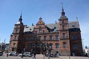 Helsingør Station - The station building from 1891