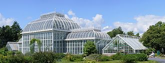 University of Helsinki Botanical Garden - The Palm House, built in 1889
