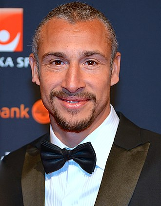 Henrik Larsson - Larsson at Svenska idrottsgalan in January 2014