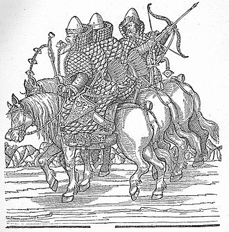 Mounted archery - 16th-century Muscovite cavalry.