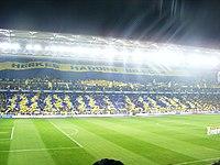 Stadyumdan bir görünüm