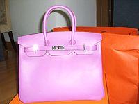 820b7abb744 Bolsa Hermès. A marca é especialmente ...