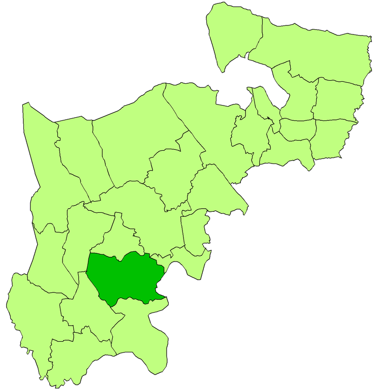 isleworth middlesex map