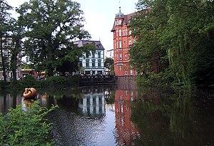 Bille (Elbe) - Bille in Hamburg-Bergedorf