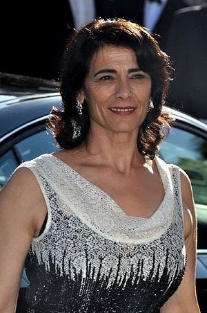 Hiam Abbass - Hiam Abbass at the 2012 Cannes Film Festival