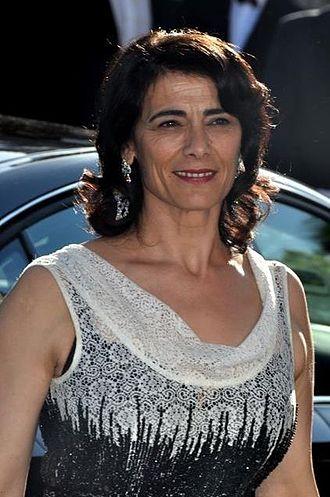 Hiam Abbass - Hiam Abbass at the 2012 Cannes Film Festival