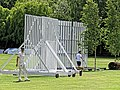 Highgate Cricket Club sight screens at Crouch End, Haringey, London, England.jpg