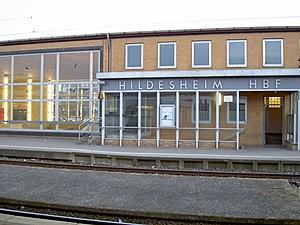 Hildesheim–Goslar railway - Hildesheim Hauptbahnhof