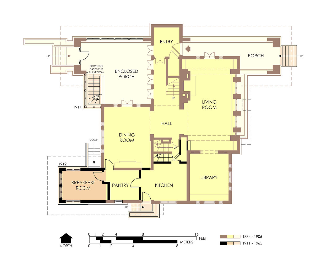 File hills decaro house first floor plan pre for Floor plans first