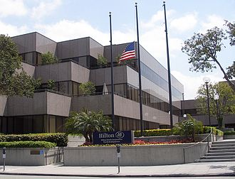 Hilton Worldwide - The former Hilton Hotels Corporation headquarters in Beverly Hills
