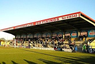 De Montfort Park - the East Stand