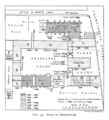 Historical plan of Peterhouse, Cambridge (1897) - cambridgedescri00atkiuoft 0359.png