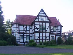 Former hunting lodge of the Paderborn prince bishops