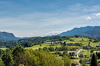 Hohenthurn - View over the Gail valley
