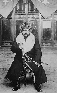 Khoja Niyaz Chinese rebel