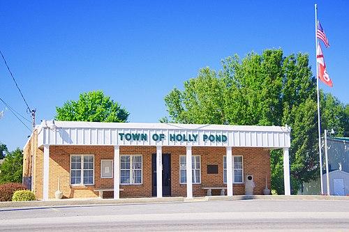 Holly Pond mailbbox